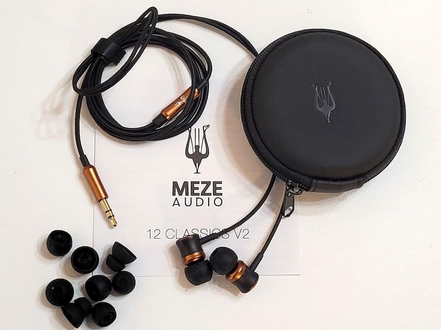 Meze Audio 12 Classics V2 In-ear Wired Headphone Kit