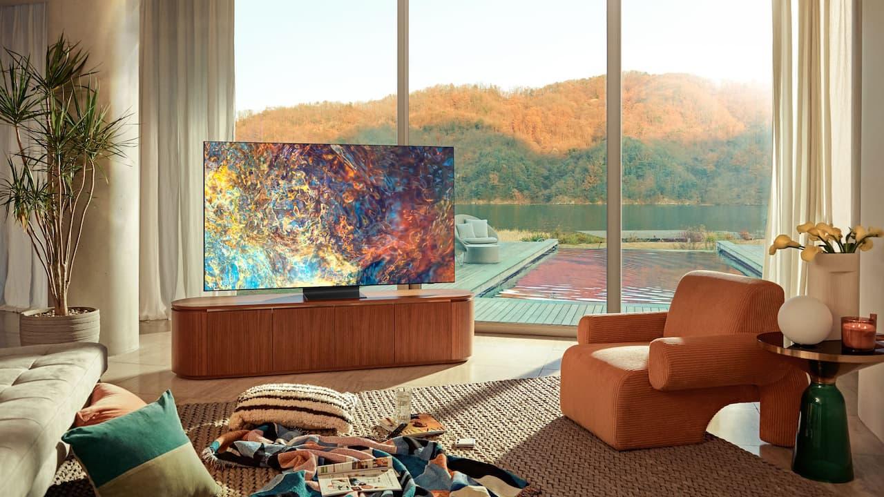 Samsung Neo QLED TV Lifestyle 2021