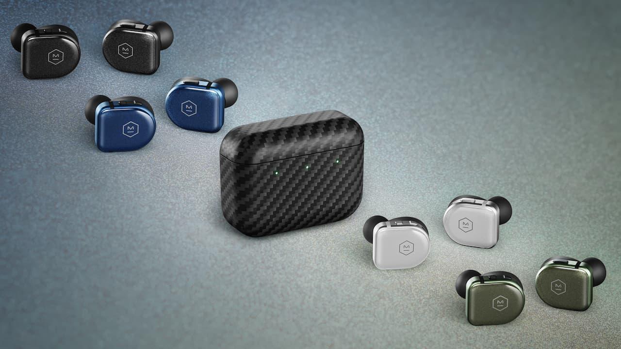 Master & Dynamic MW08 Sport Wireless Earphone Colors