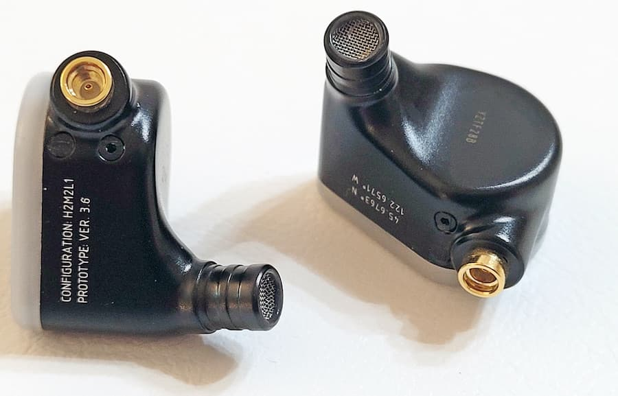 Fir Audio VxV Earbuds Top View