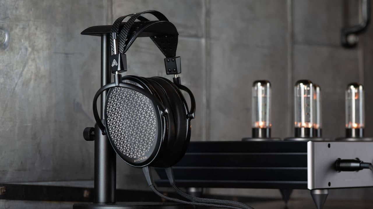 Audeze CRBN Electrostatic Headphones Lifestyle