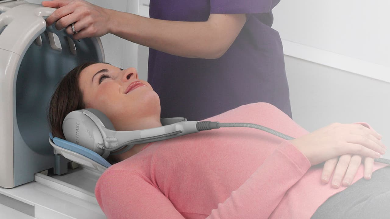 Audeze CRBN Headphones for MRI Machines
