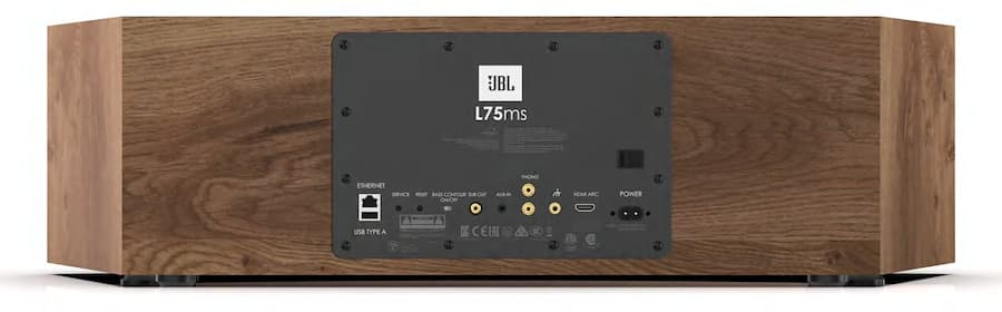 JBL L75ms Music System Rear