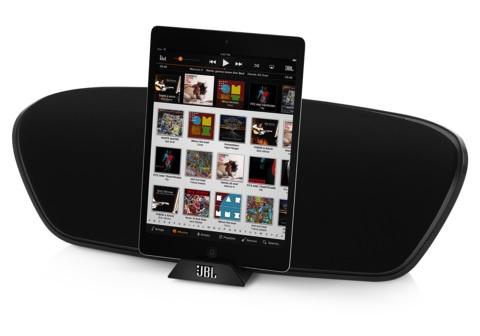 JBL OnBeat Venue LT with iPad mini
