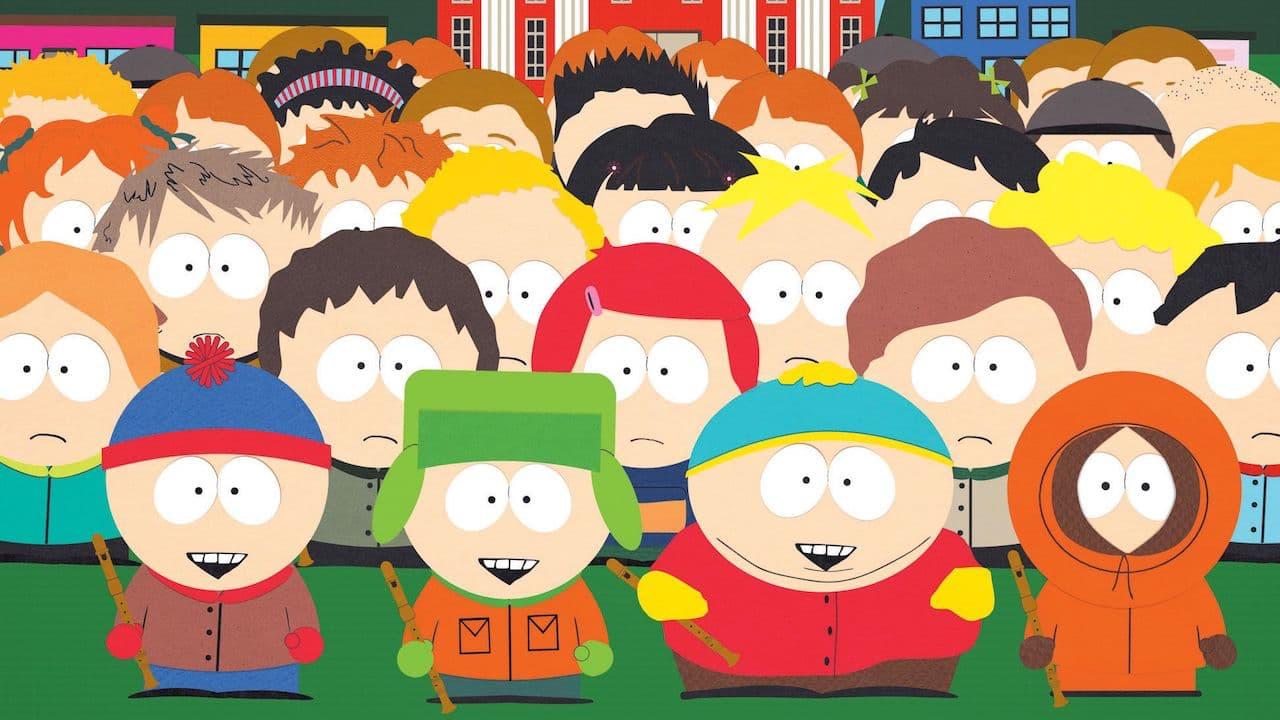 South Park Classmates Outside Boys