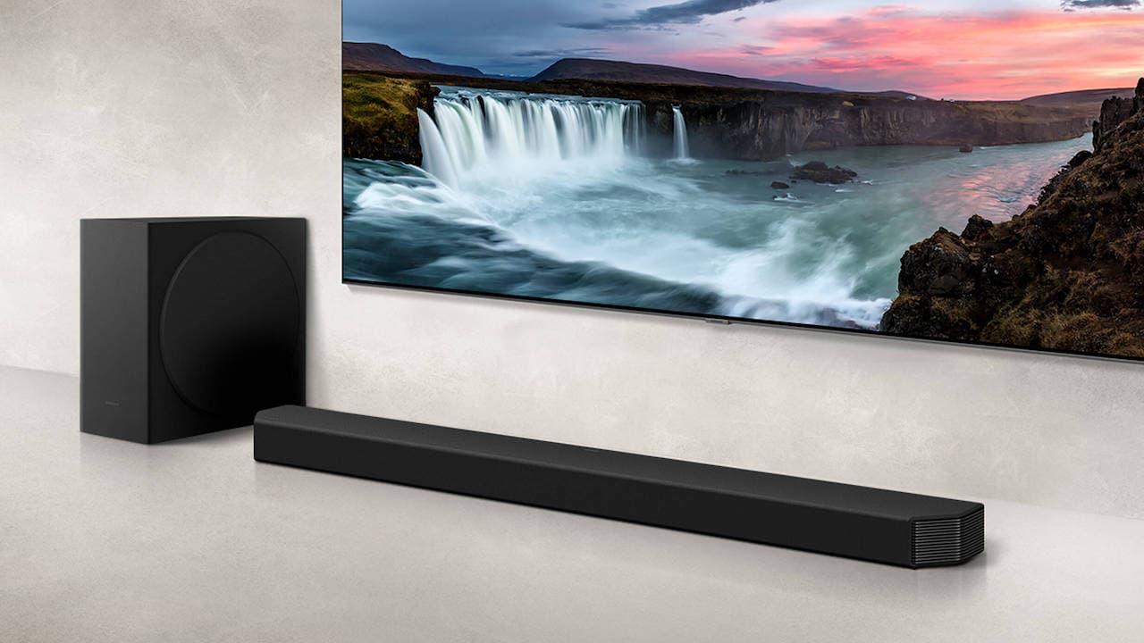 Samsung HW-Q800A Surround Sound Soundbar System with Subwoofer