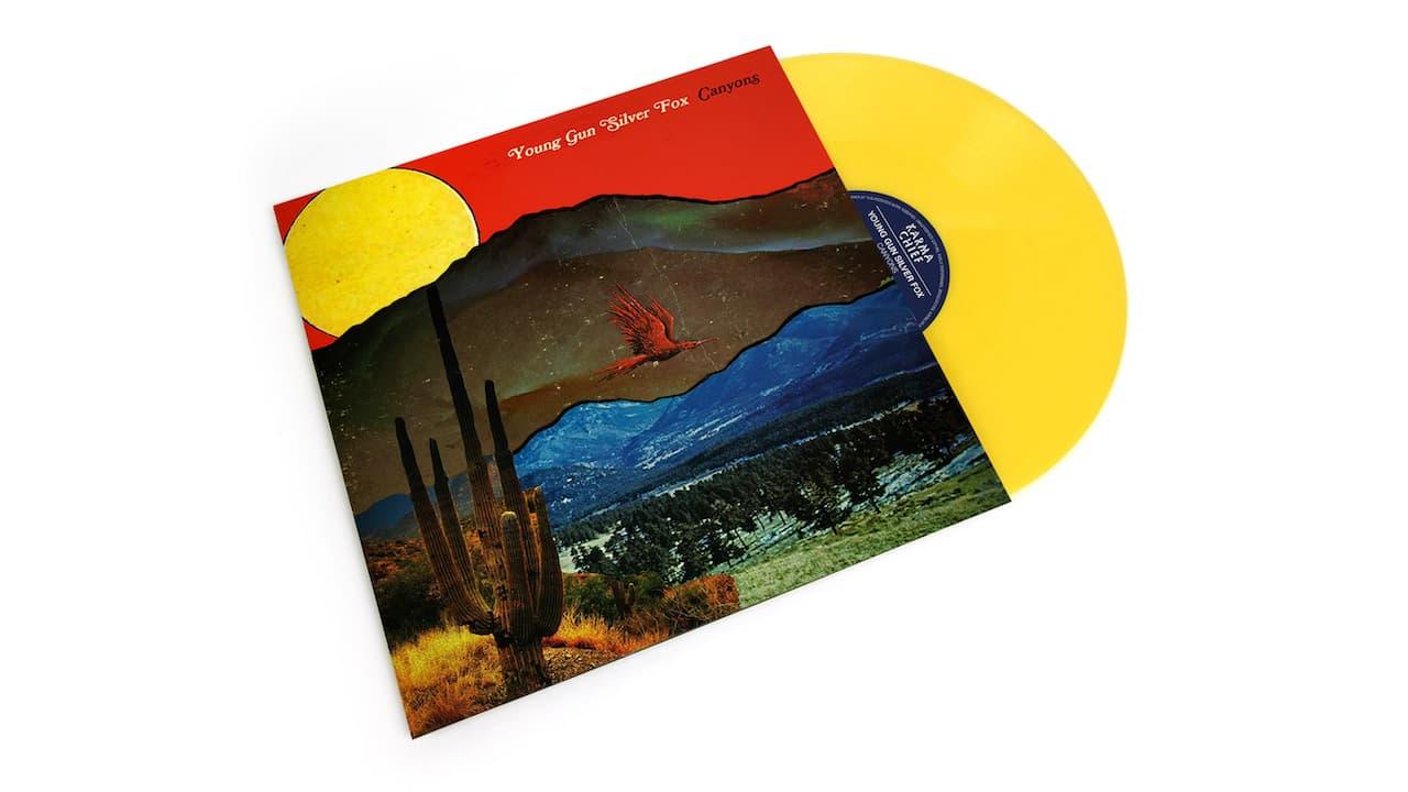 Young Gun Silver Fox Album Yellow
