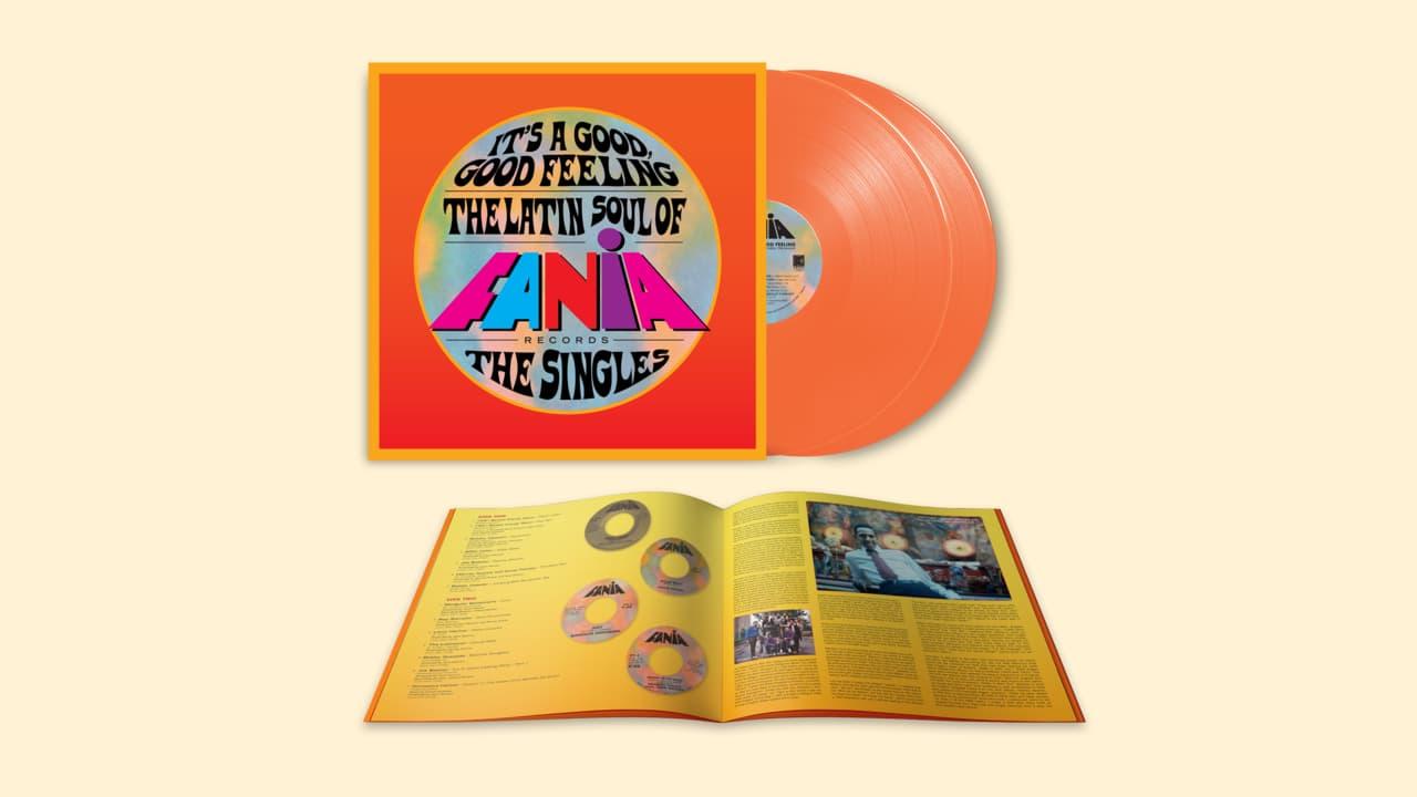 Various Artists - It's a Good, Good Feeling: The Latin Soul of Fania Records (The Singles) Limited Orange Crush 2-LP Vinyl