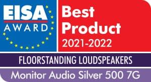 EISA Award Monitor Audio Silver 500 7G Floorstanding Loudspeakers