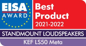 EISA Award KEF LS50 Meta Standmount Loudspeakers