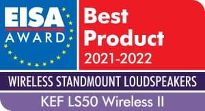 EISA Award KEF LS50 Wireless II Active Bookshelf Speaker
