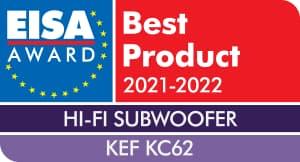 EISA Award KEF KC62 Subwoofer