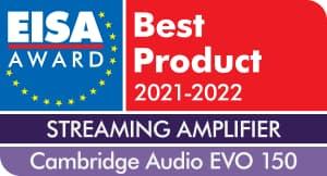 EISA Award Cambridge Audio EVO 150 Streaming Amplifier