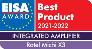 EISA Award Rotel Michi X3 Integrated Amplifier