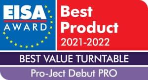 EISA Award Pro-Ject Debut PRO Turntable