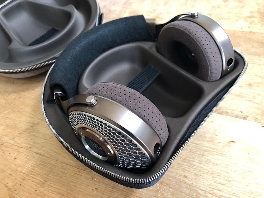 Focal Clear Mg Headphones in Case
