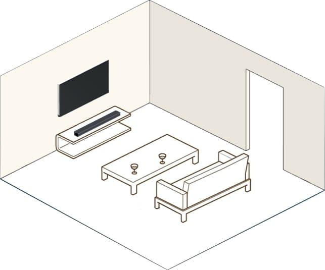 DTS Play-Fi with TV Soundbar
