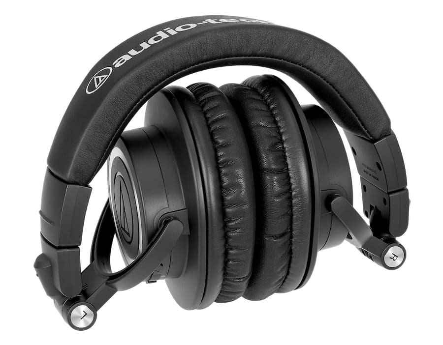 Audio-Technica ATH-M50xBT2 Wireless Over-Ear Headphones Folded