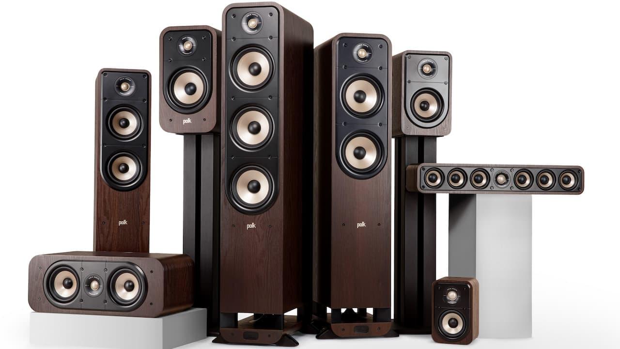 Polk Audio Signature Elite Loudspeakers Brown