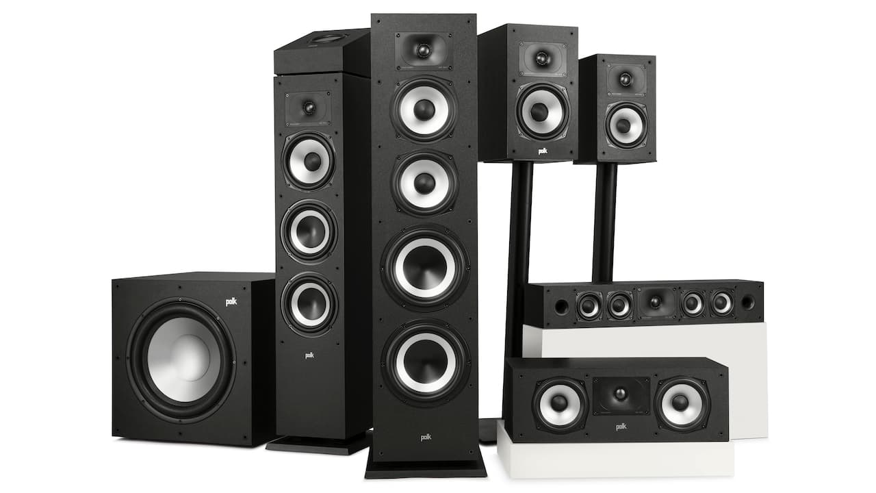 Polk Audio Monitor XT Loudspeaker Family