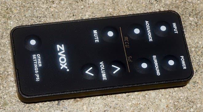 ZVOX AV357 remote