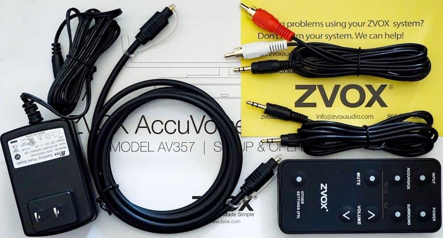 ZVOX AV357 Accessories