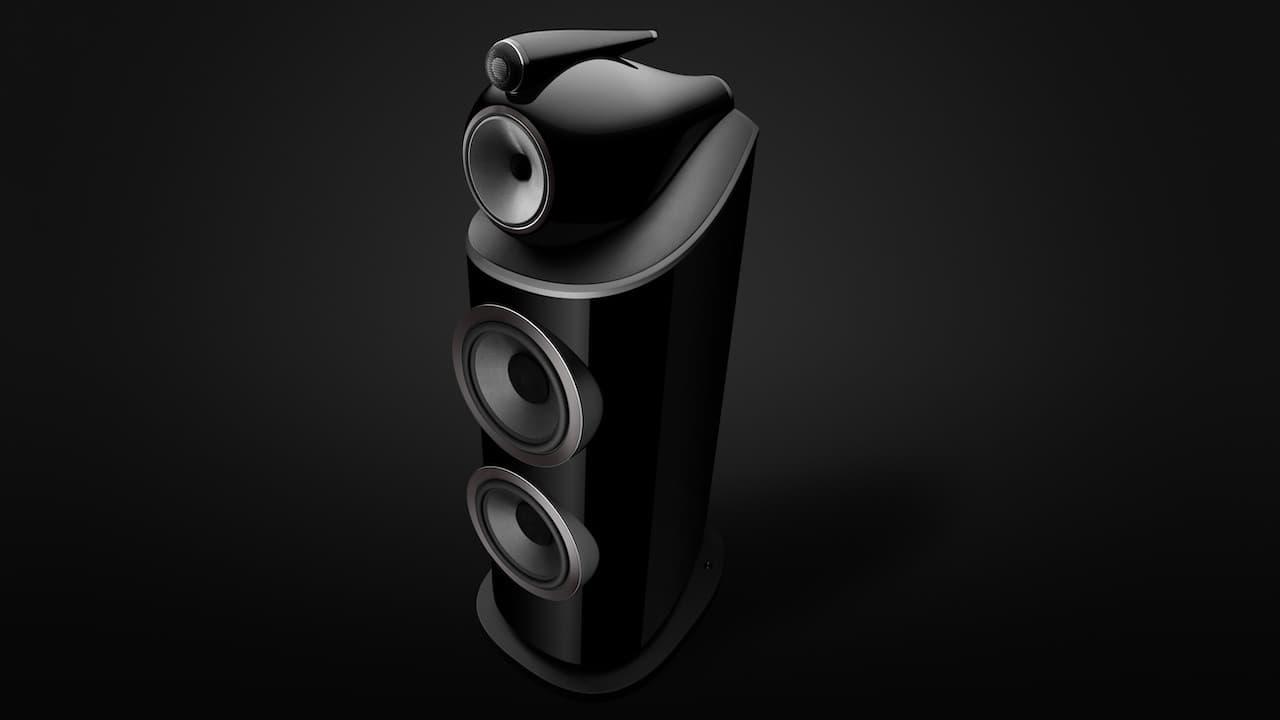 Bowers & Wilkins 801 D4 Loudspeaker Gloss Black