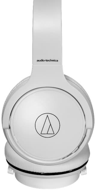 Audio-Technica ATH-S220BT Wireless On-Ear Headphones Side White