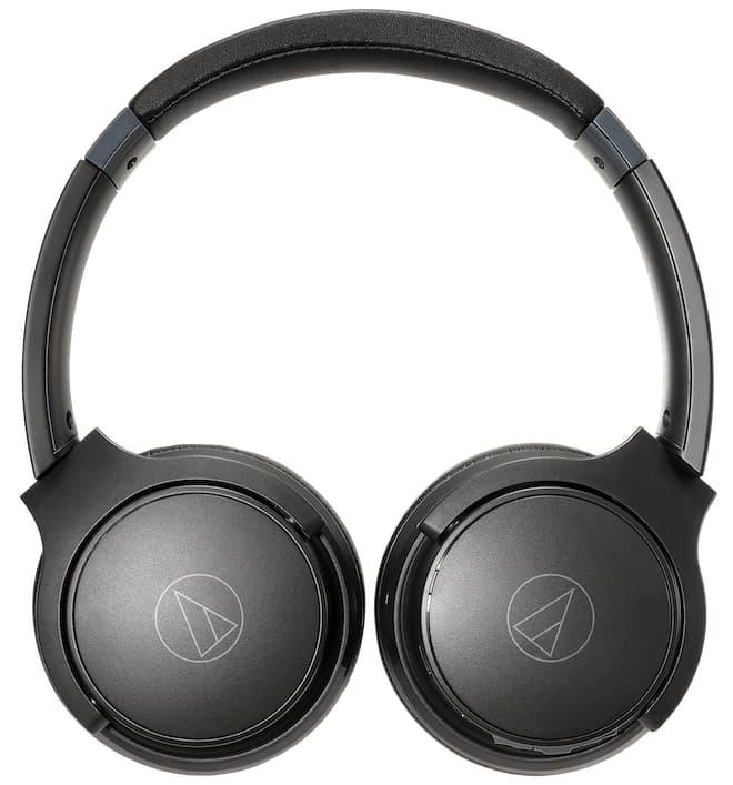 Audio-Technica ATH-S220BT Wireless On-Ear Headphones Fold Flat