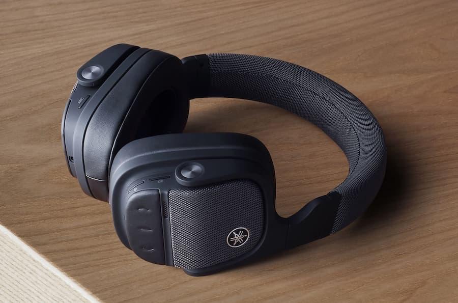 Yamaha YH-L700A Wireless Headphones on Table