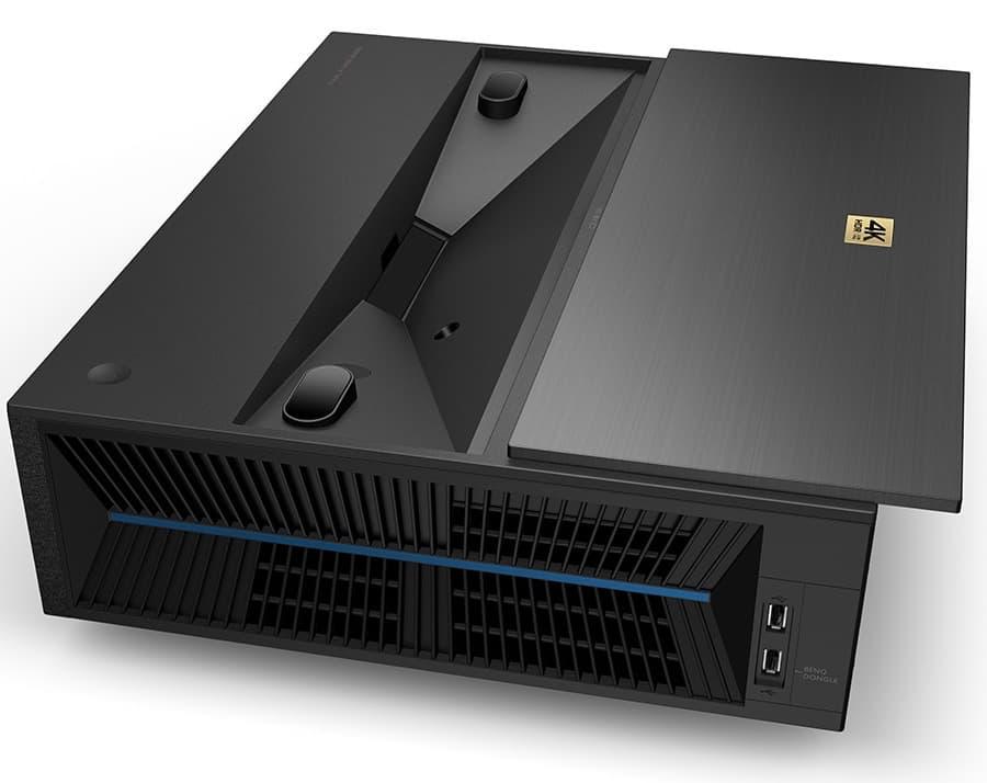 BenQ V7050i Laser TV Projector Side