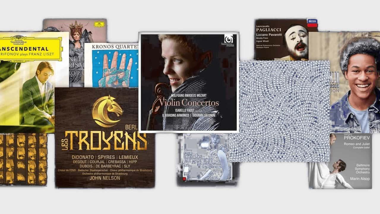 Primephonic Classical Music Albums Collage