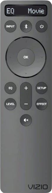 Vizio M51ax-J6 Sound Bar Remote Control