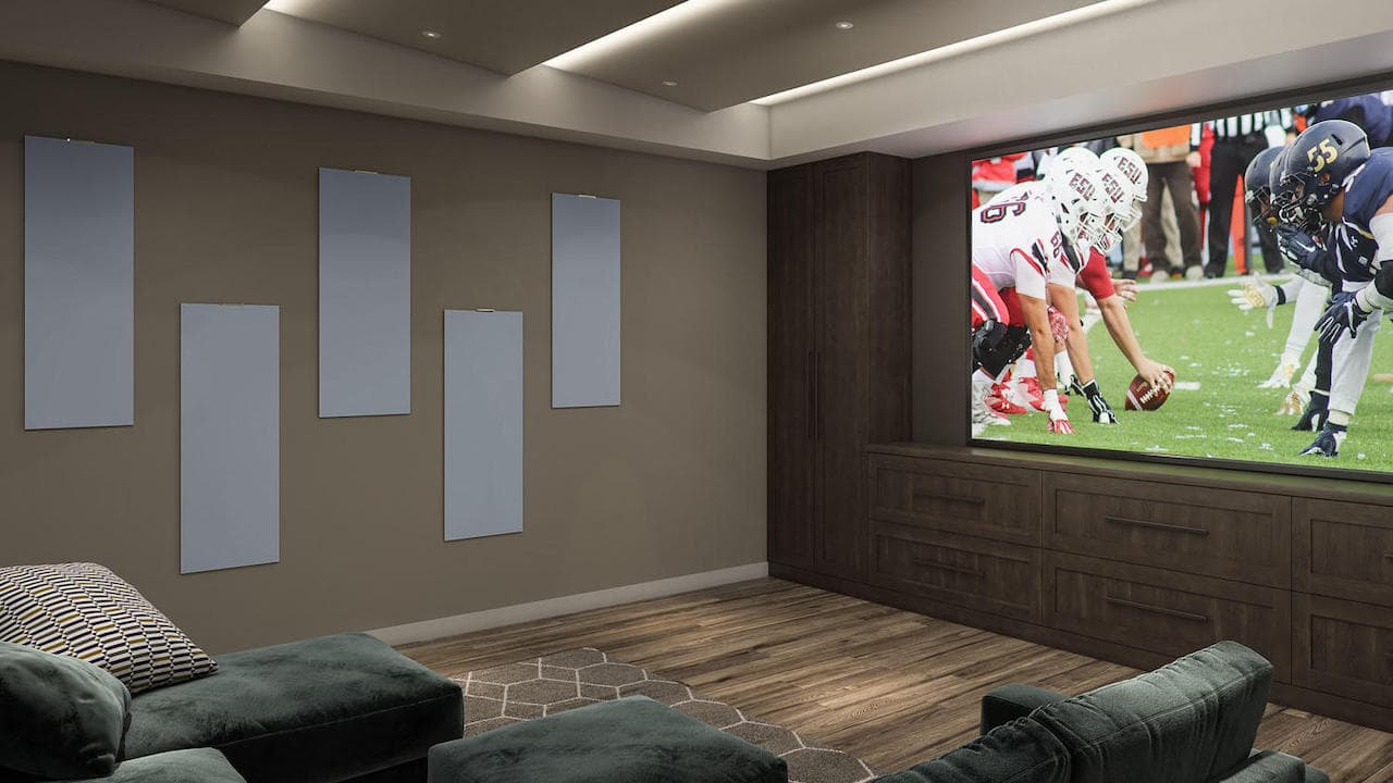 Atlantic SOUNDFIX Acoustics Panels On-Wall Gray