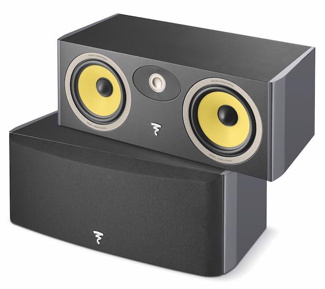 Focal Aria K2 Center Speaker in Ash Grey