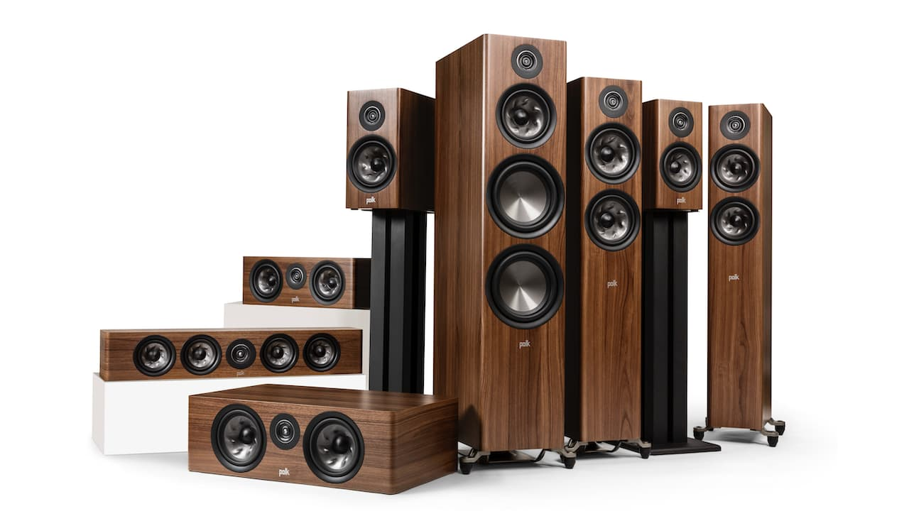 Polk Audio Reserve Series Loudspeakers Walnut