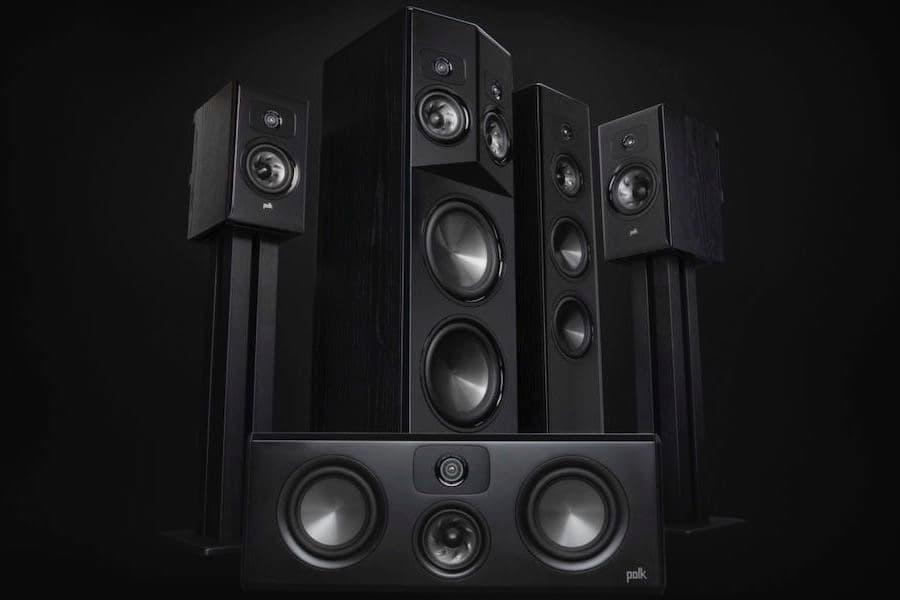 Polk Audio Legend Series Speakers in Walnut