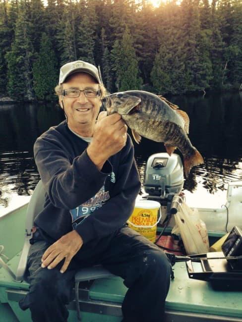 Alan Garshon Holding Fish in North Lauderdale, FL