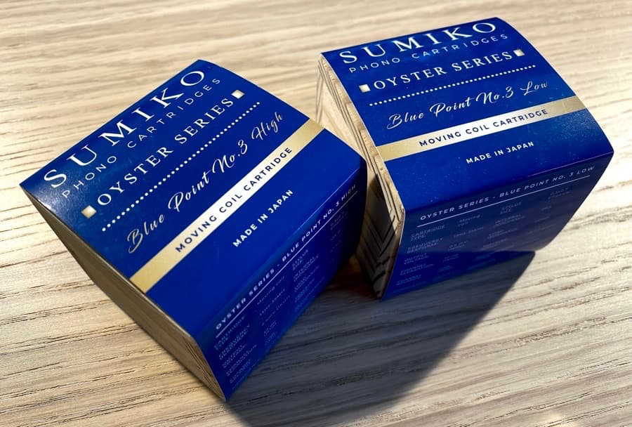 Sumiko Blue Point No. 3 Packaging