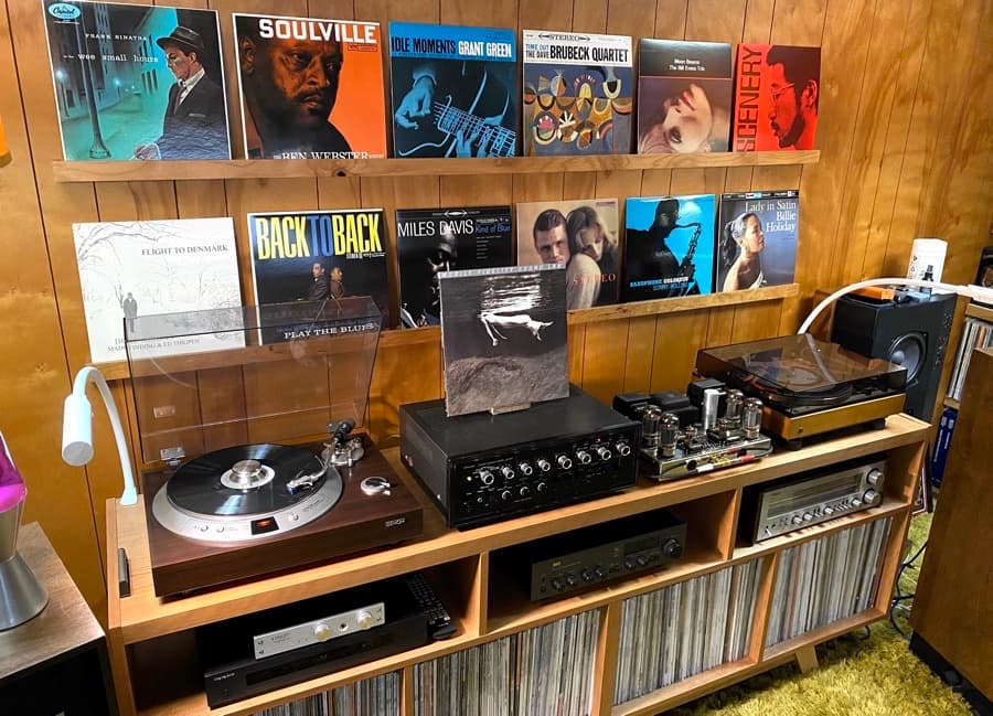 Denon and Dual Turntables
