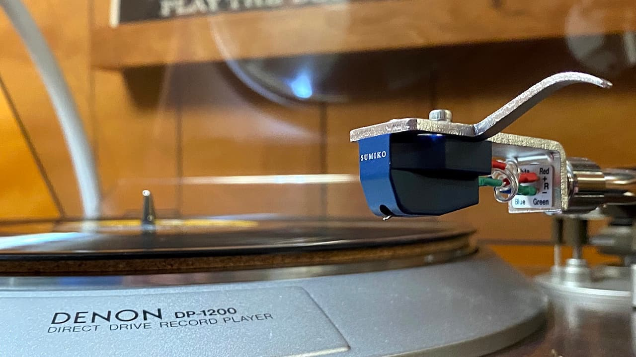 Sumiko Blue Point No. 3 Moving Coil High Output Phono Cartridge