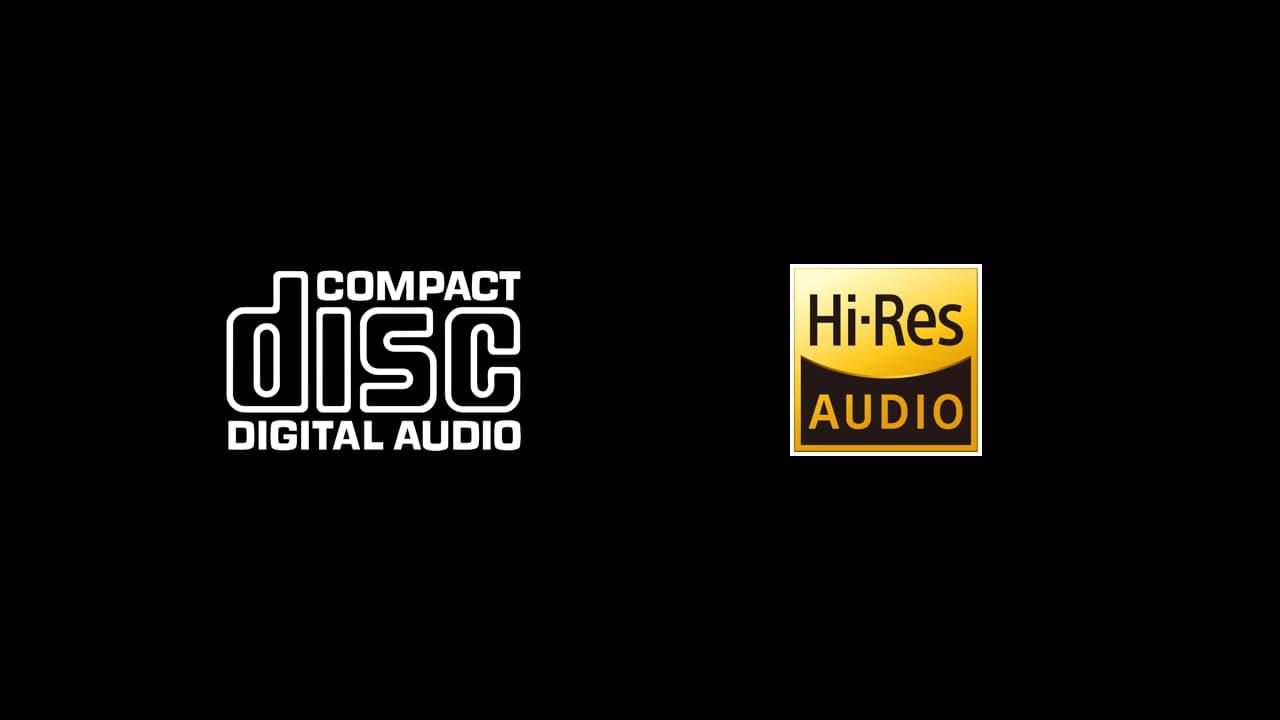 Compact Disc vs Hi-Res Audio