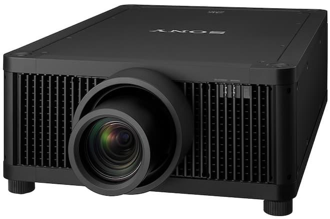 Sony VPL-GTZ380 4K Laser Projector Angle