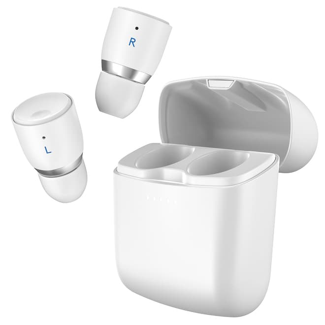 Cambridge Audio Melomania 1+ Wireless Earbuds in White with Charging Case