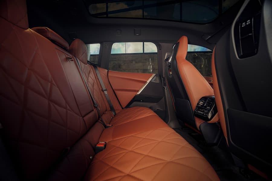 BMW iX Interior Rear Seats