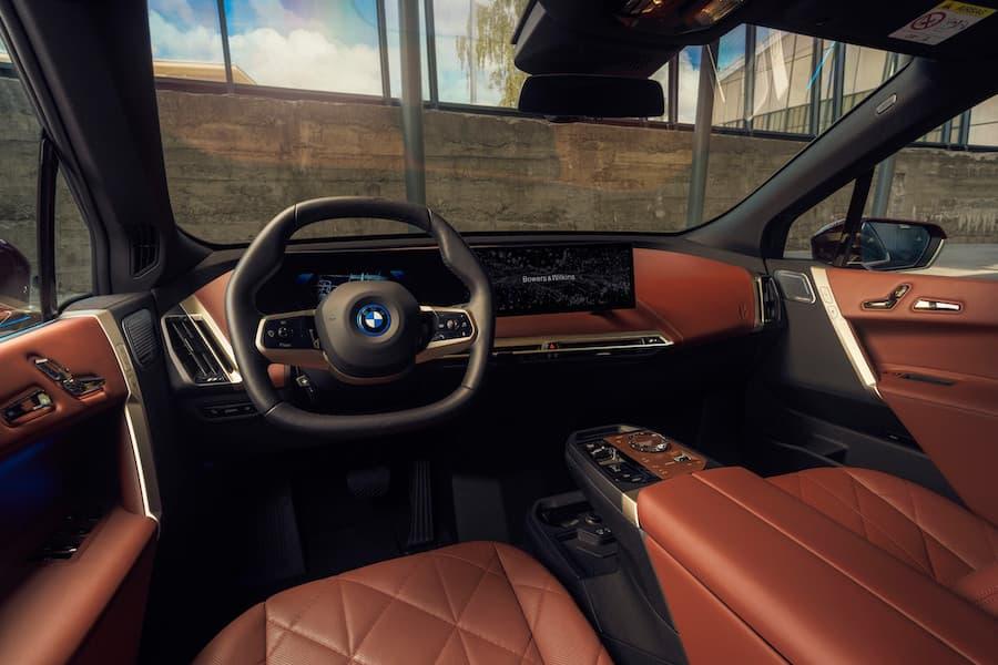 BMW iX Interior LHS Steering Wheel