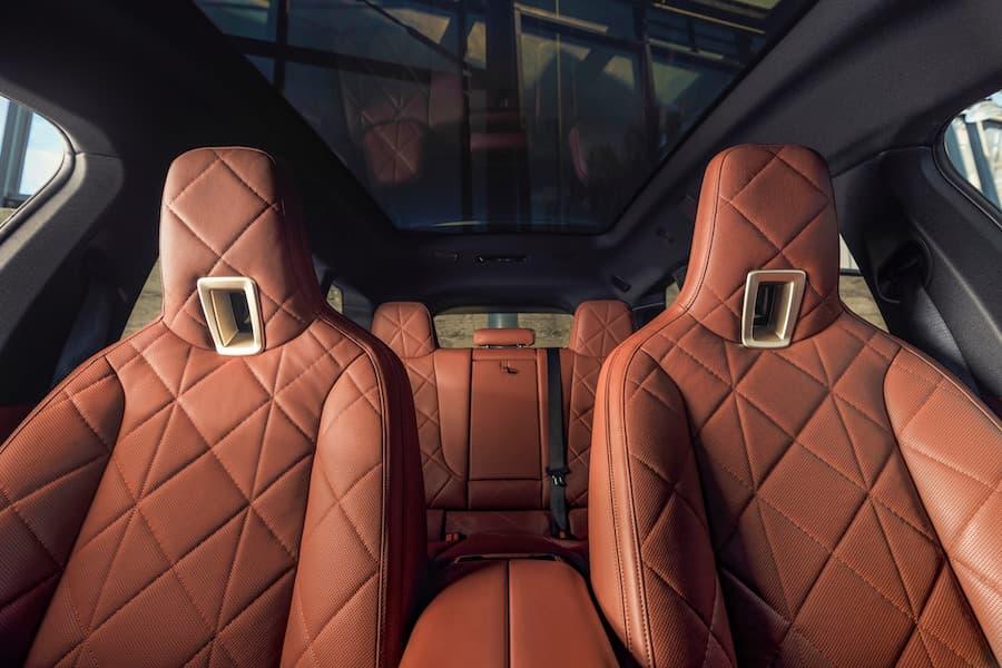 BMW iX Interior Looking Towards Rear Seats