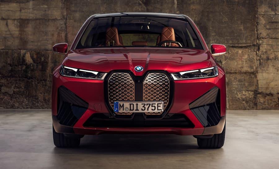 BMW iX Exterior Front View