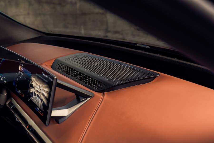 BMW iX Interior Bowers & Wilkins Centre Speaker