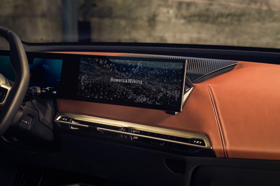 BMW iX Interior iDrive Screen